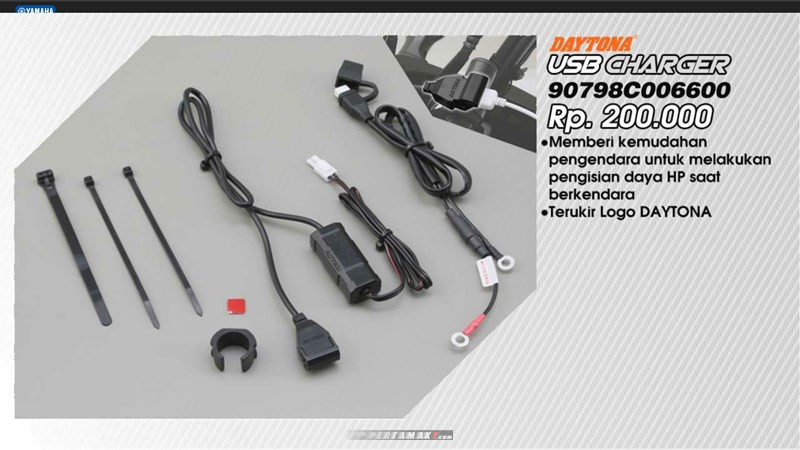 USB Charger Yamaha All New Vixion R P7