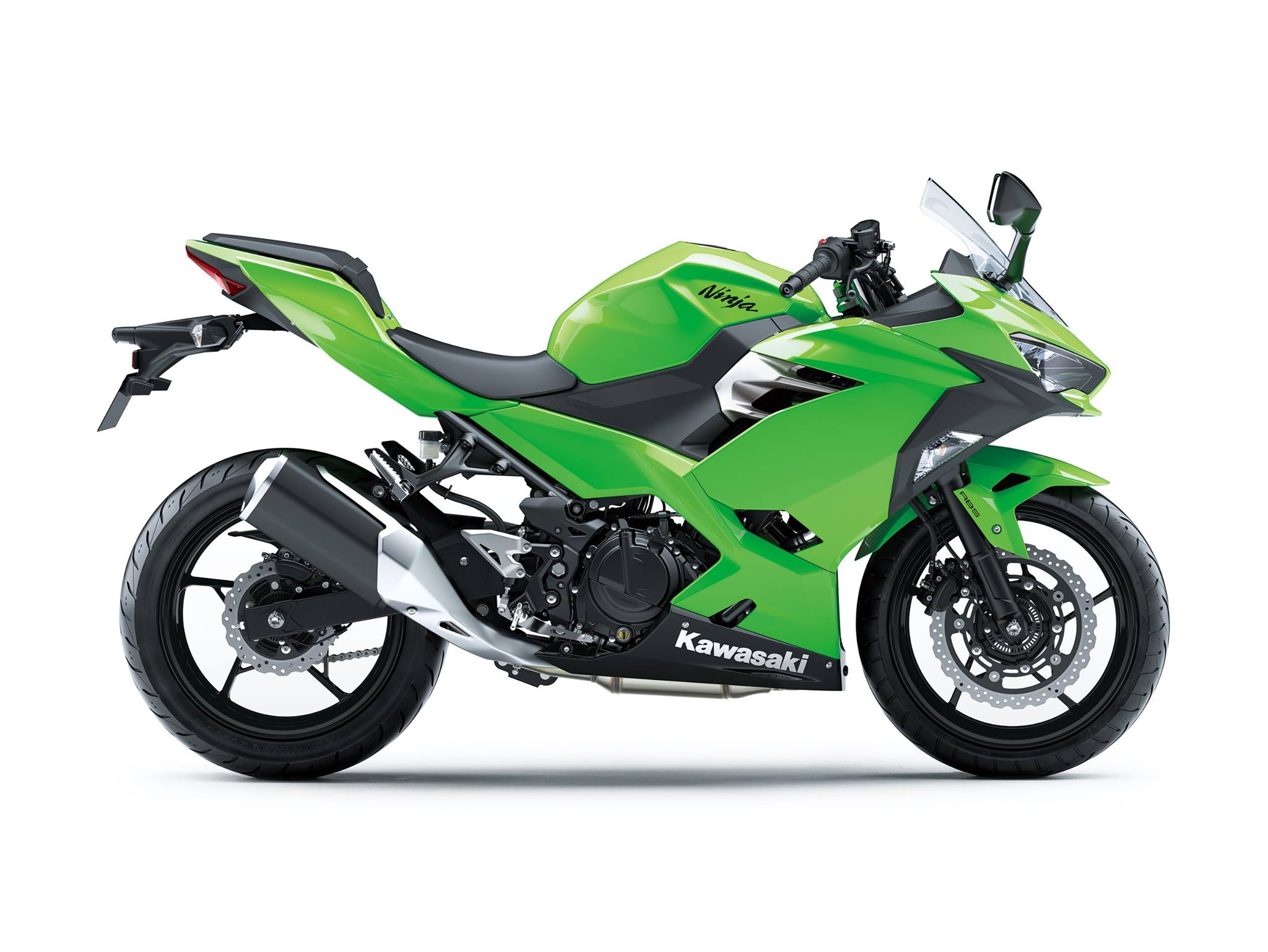 All New Kawasaki Ninja 250 FI Versi 2018 Warna Hijau Polos 1 p7