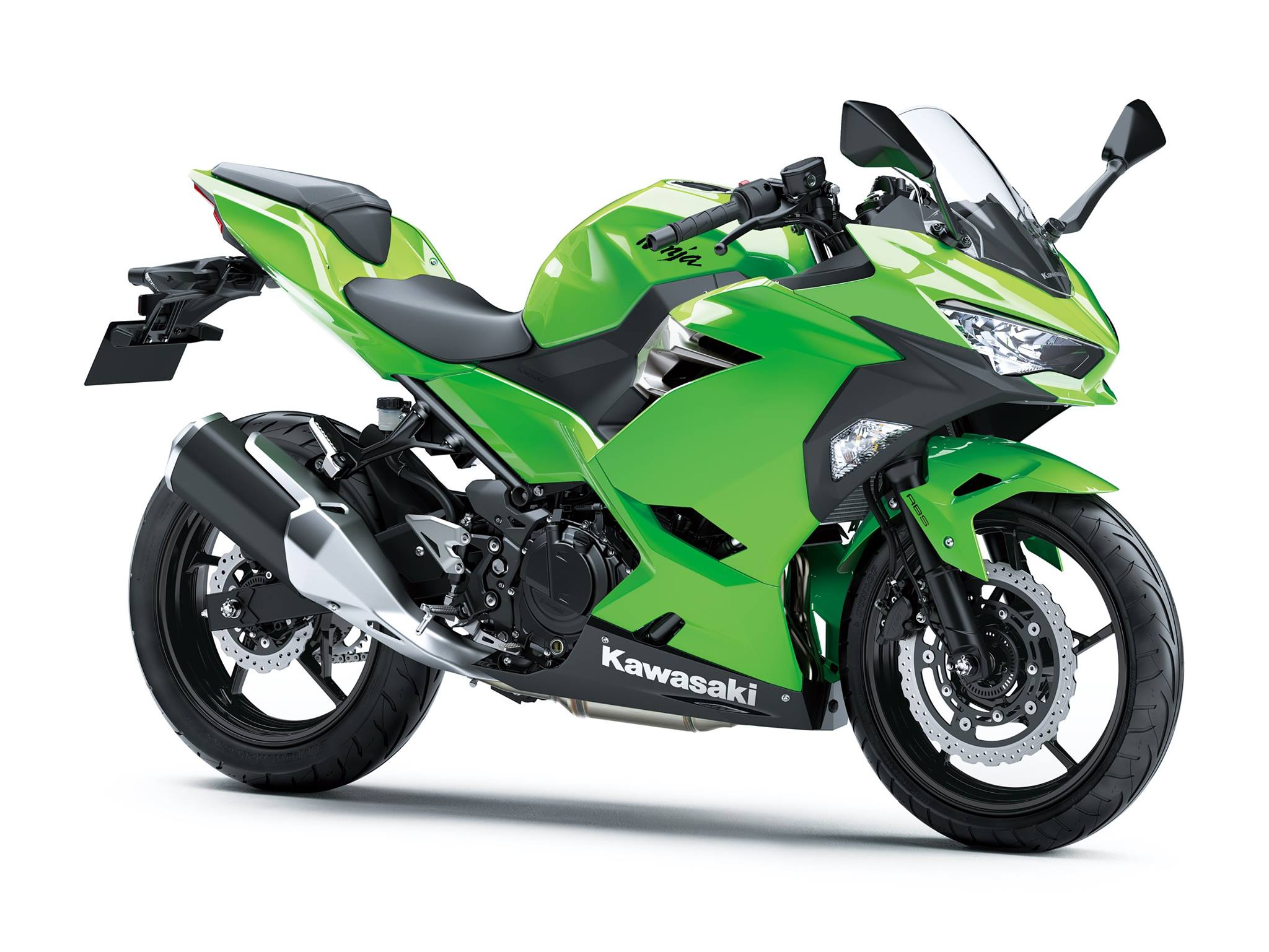 All New Kawasaki Ninja 250 FI Versi 2018 Warna Hijau Polos 3 p7