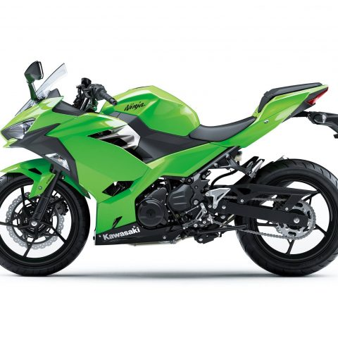 All New Kawasaki Ninja 250 FI Versi 2018 Warna Hijau Polos p7