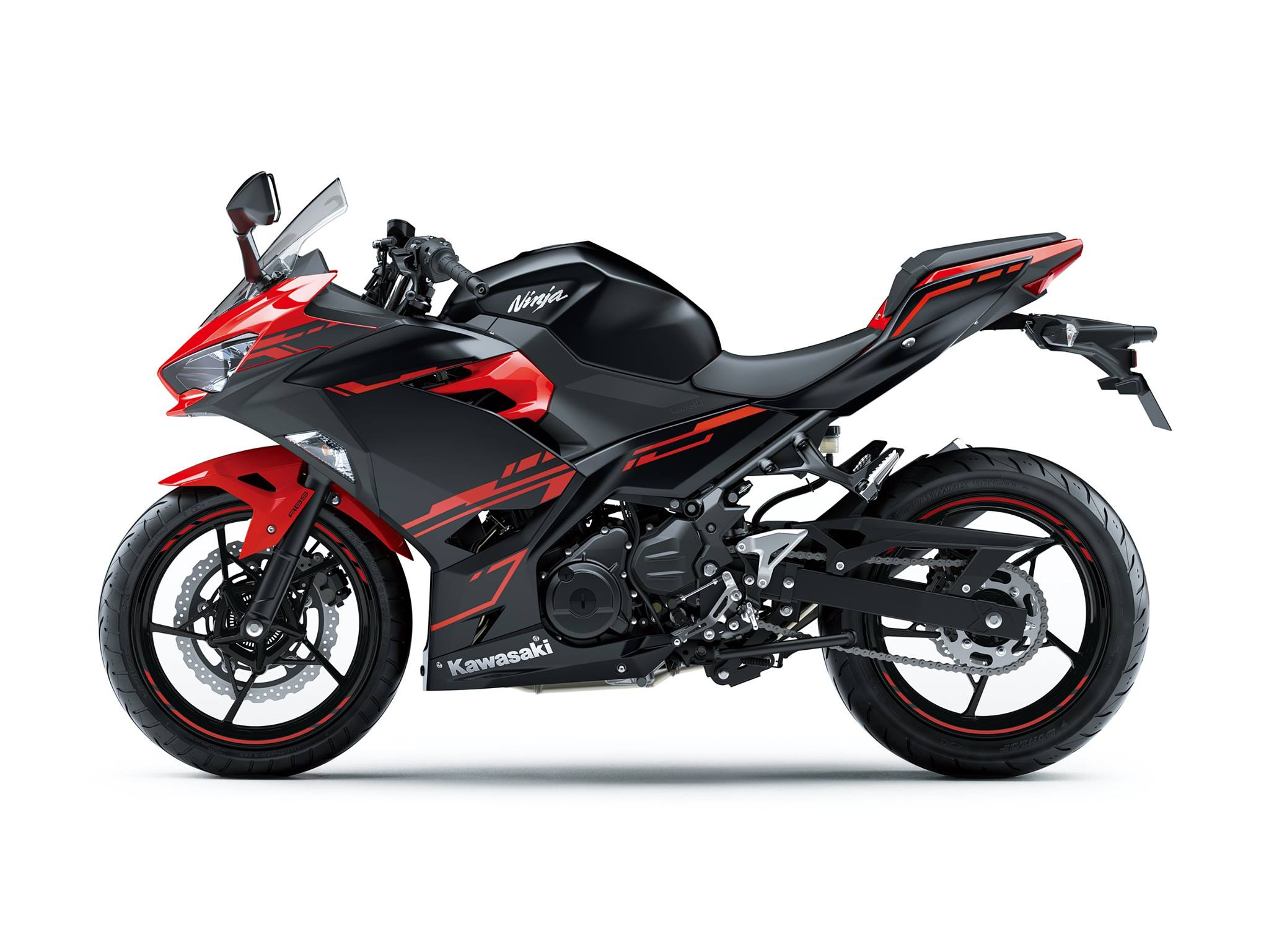 All New Kawasaki Ninja 250 FI Versi 2018 Warna Hitam Merah p7