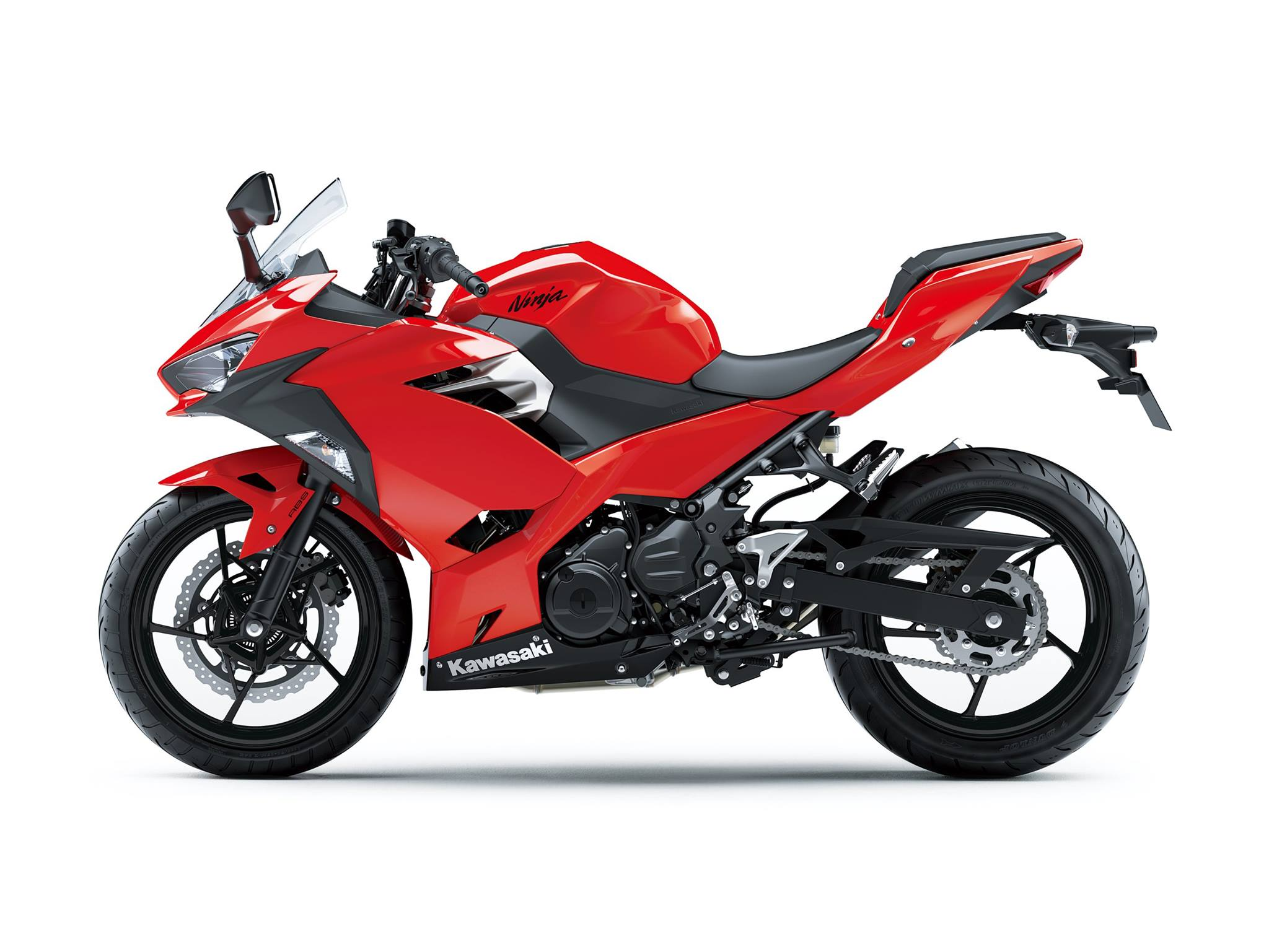 All New Kawasaki Ninja 250 Fi Versi 2018 Warna Merah 1 P7