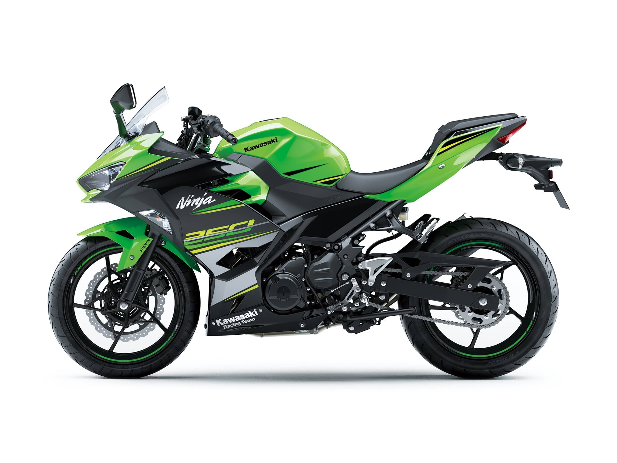 All New Kawasaki Ninja 250 FI Versi 2018 Warna Warna Hijau Striping p7