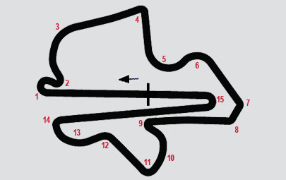Layout Sirkuit Sepang ATC 2017