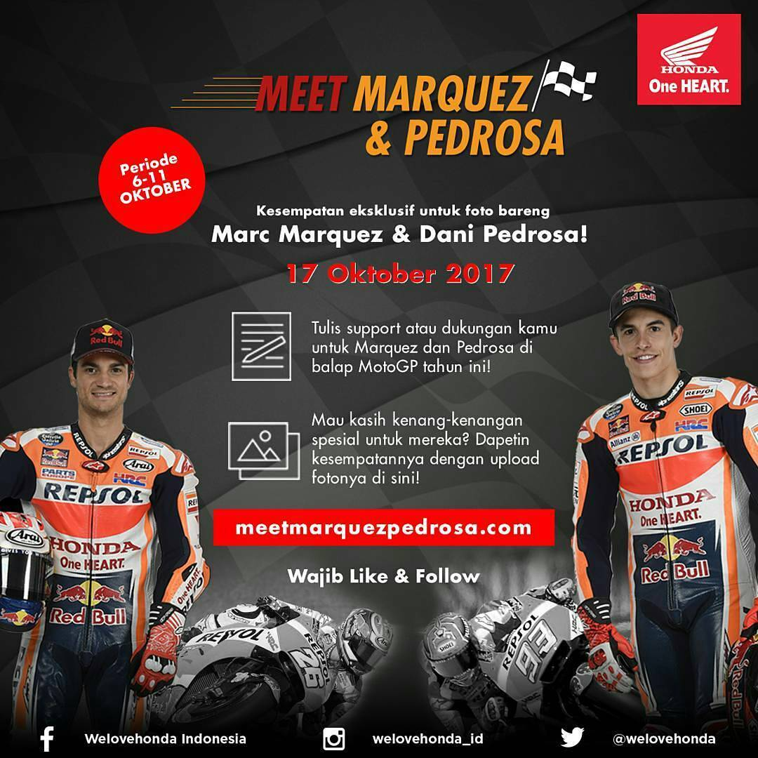 meet Marquez and Pedrosa Indonesia