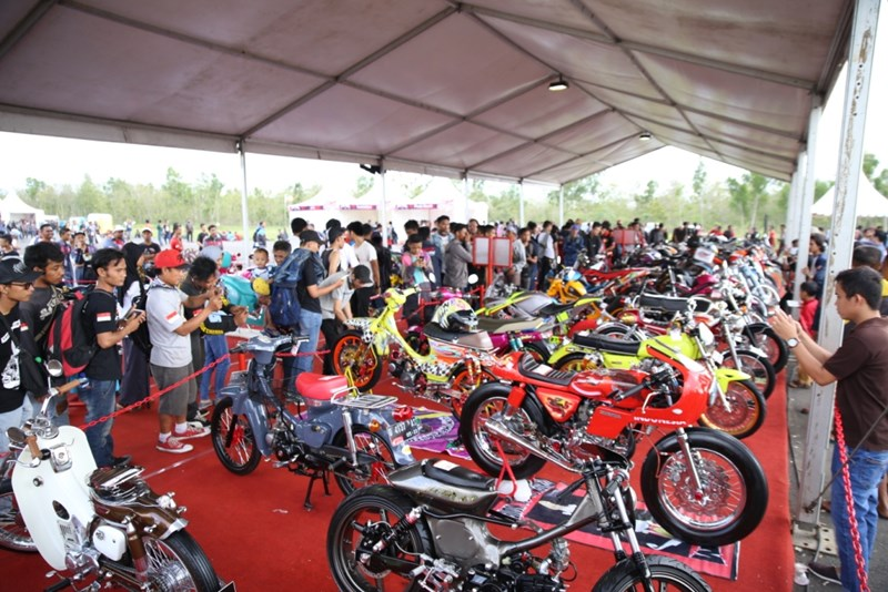 Motor Final Battle Honda Modif Contest 2017