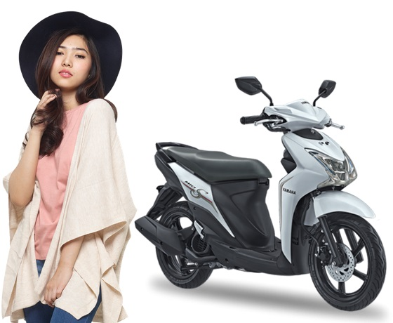 Yamaha Mio S Warna Putih Smart White