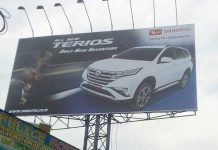 Billboard All New Daihatsu Terios 2018