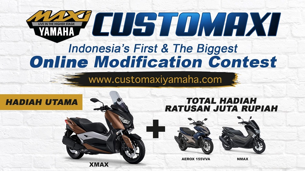 CUSTOMAXI YAMAHA Indonesia