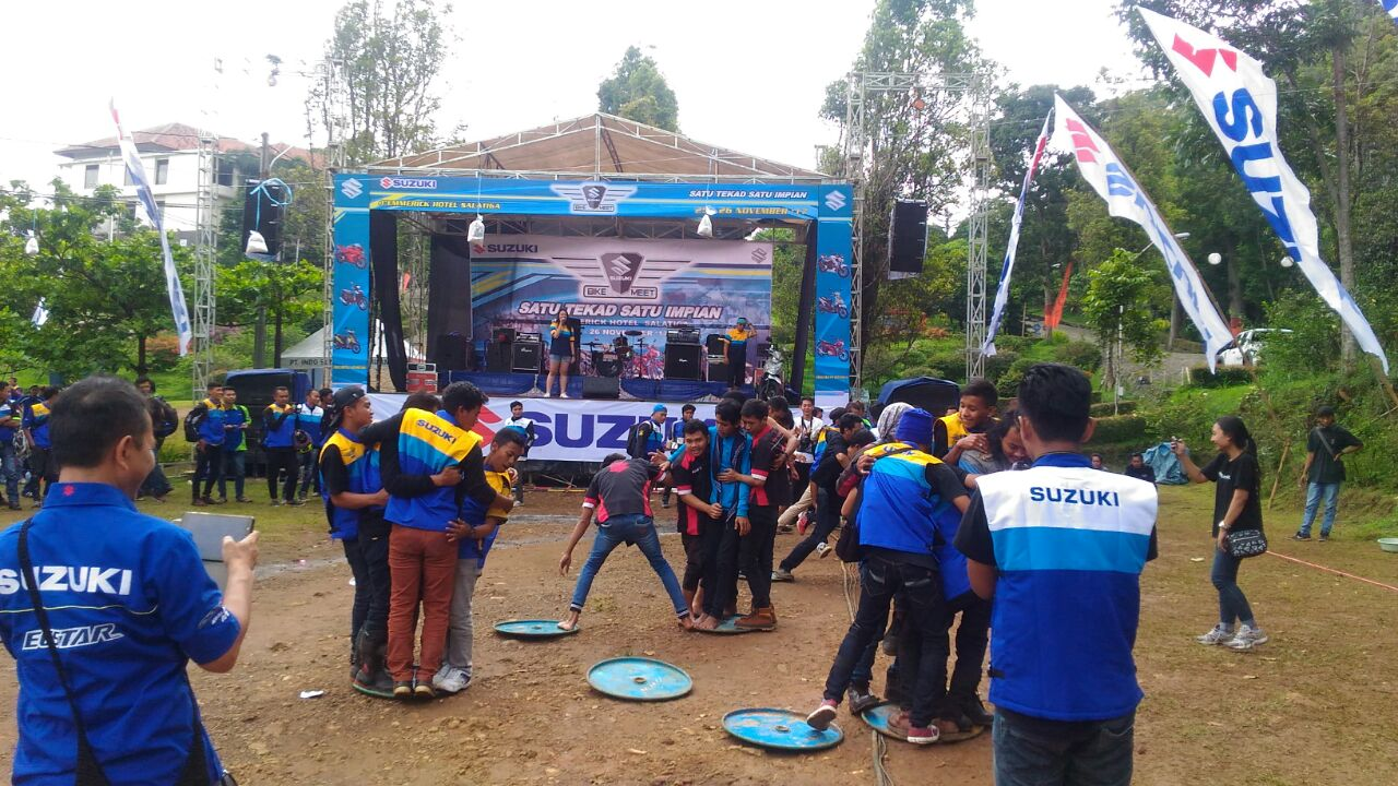 Games Suzuki Bike Meet Kopeng