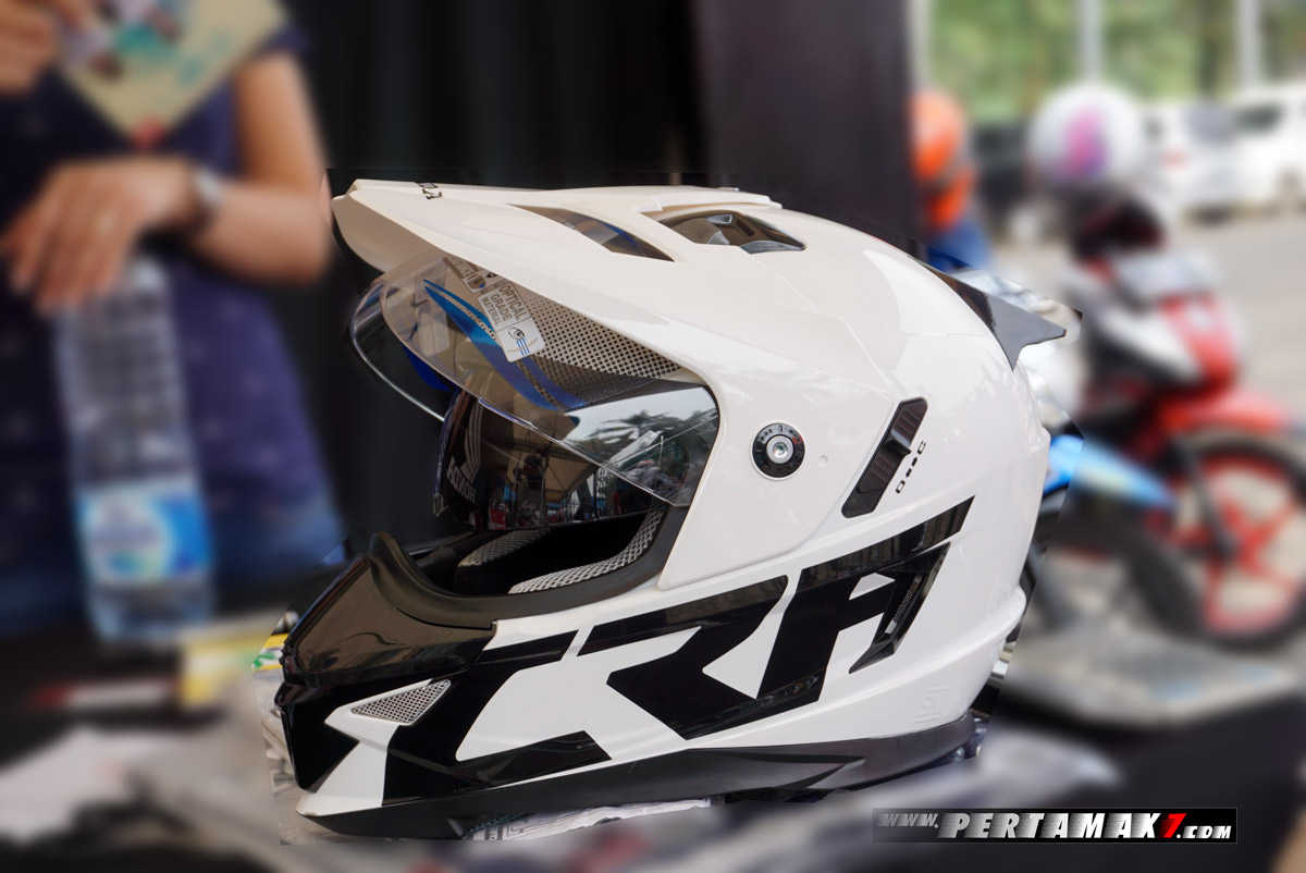 Helm Supermoto Honda CRF250 Rally 9 p7