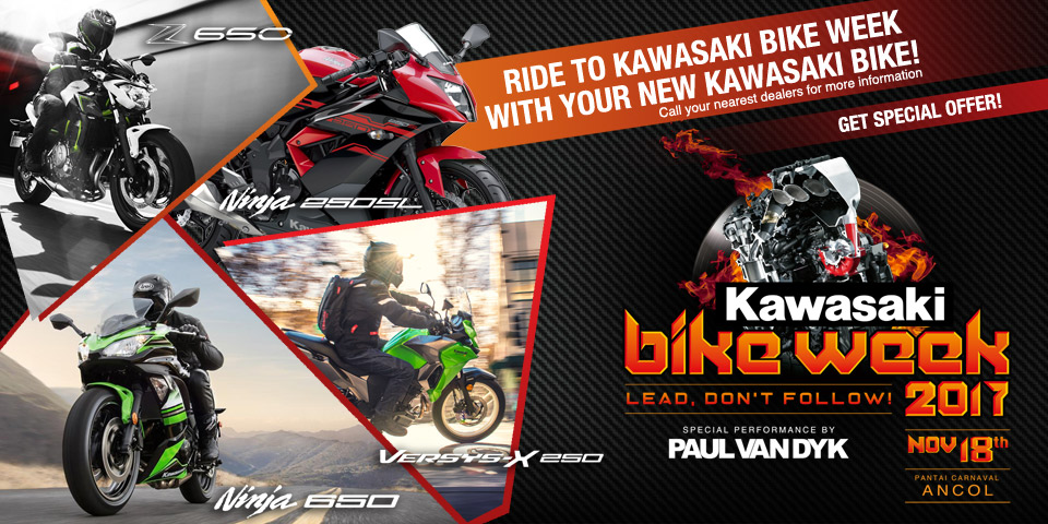Kawasaki Bike Week 2017 Ancol