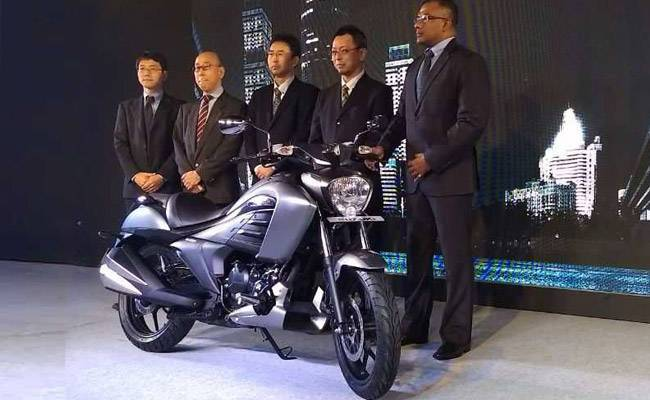 Launching Suzuki Intruder 150 India 6 p7