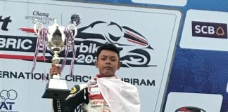M Adenanta Juara Thailand Talent Cup 2017 Chang Buriram