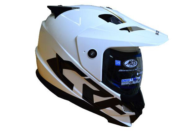 MDS Super Pro Helm Honda CRF250RALLY Putih