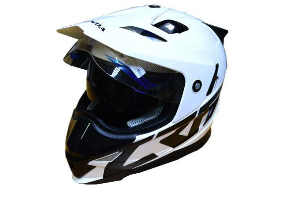 MDS Super Pro Helm Honda CRF250RALLY Putih a