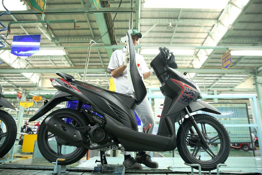New Honda Vario ESP 110 Versi 2018 Advance