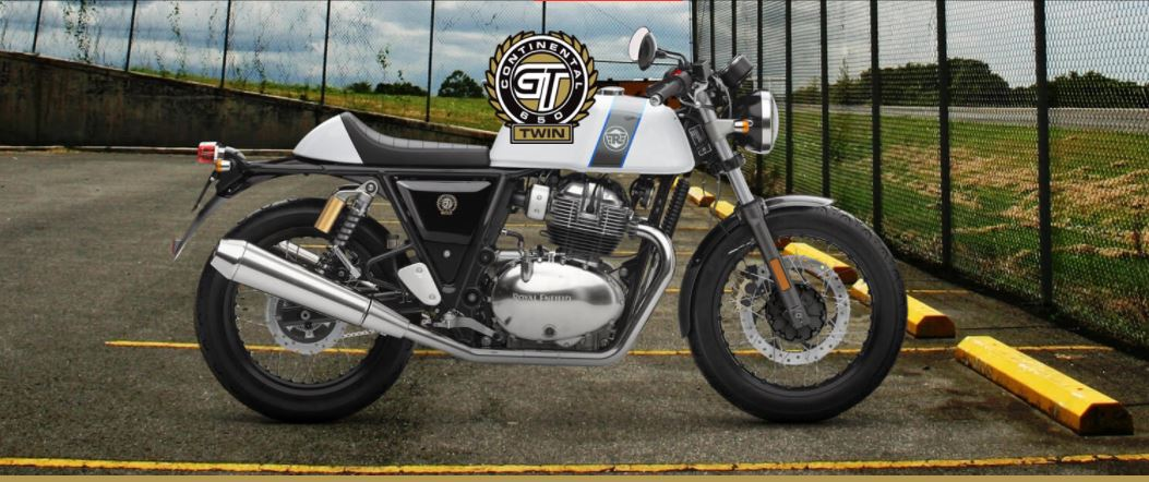 Royal Enfield Continental GT 650 Putih Ice Queen