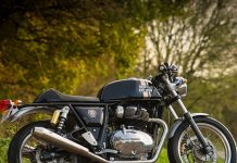Royal Enfield Continental GT 650 TWIN Bokeh