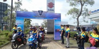 Suzuki Bike Meet Batam - start city touring 1