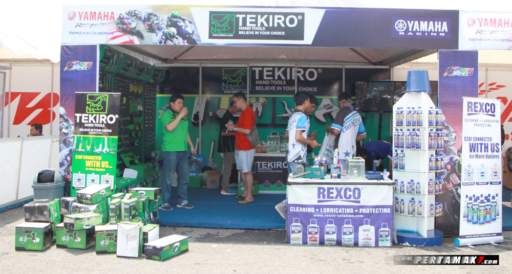 Tekiro Rexco Booth Yamaha Sunday race 2017