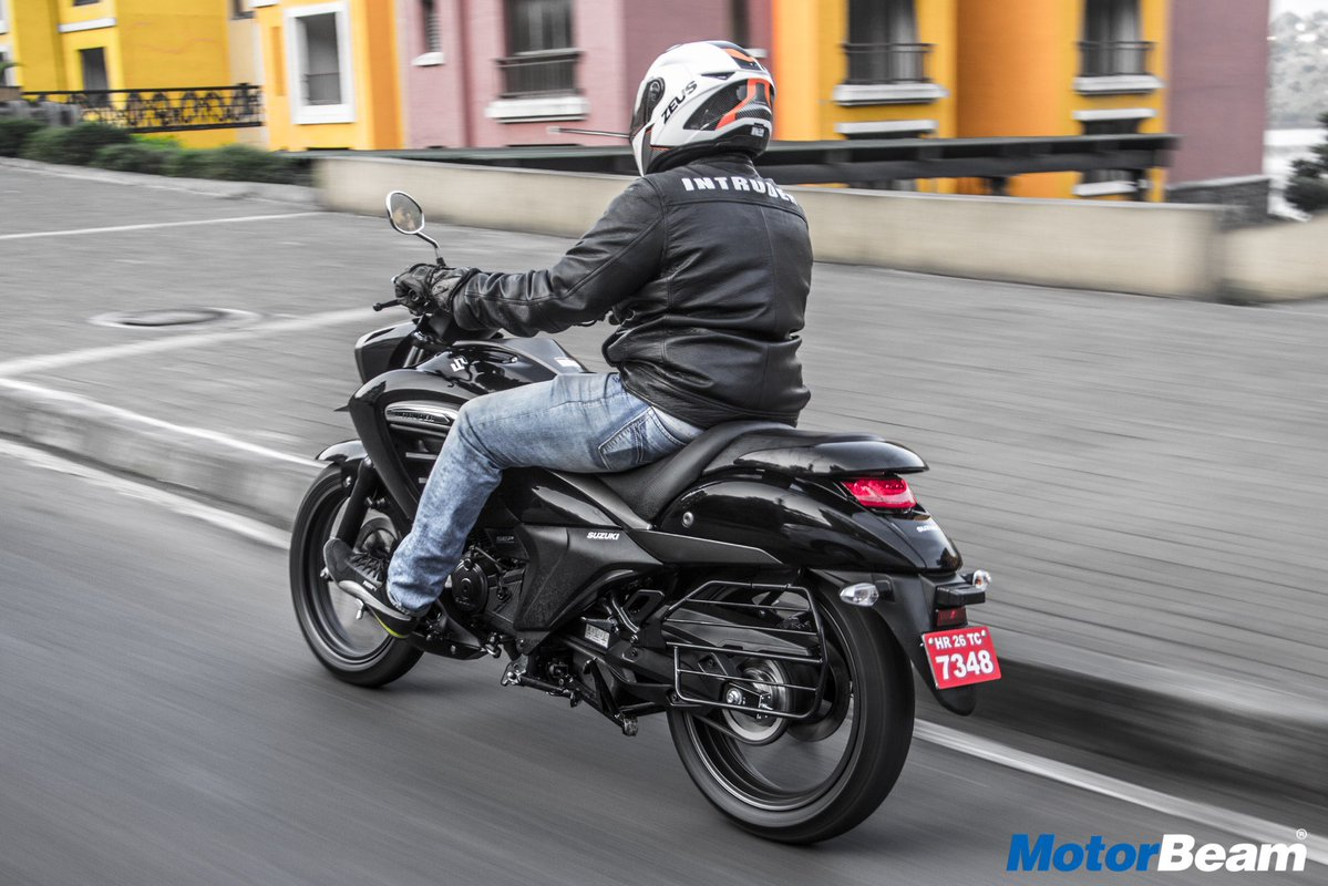 Testride Suzuki Intruder 150 India 2 p7