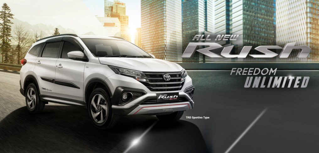 Toyota All new Rush TRD SPORTIVO TYPE Freedom Unlimited
