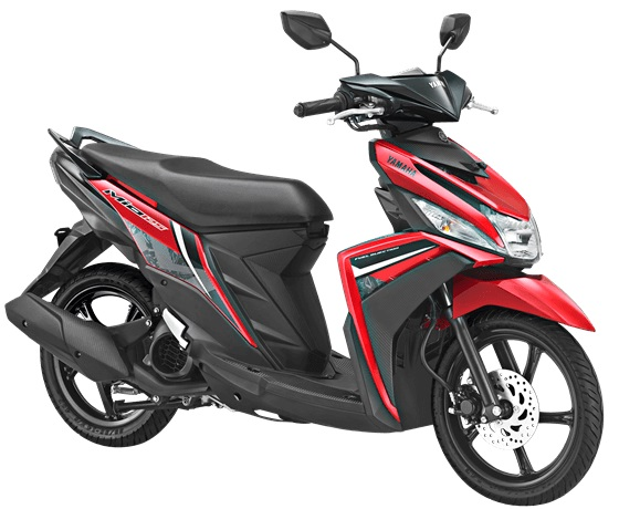 Yamaha Mio M3 125 Versi 2018 Warna Merah Attractive Red