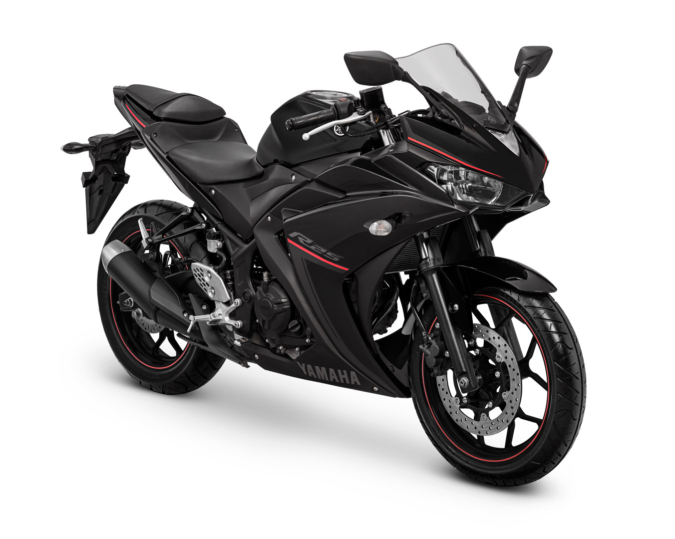 Yamaha YZF-R25 Warna Metalic-Black