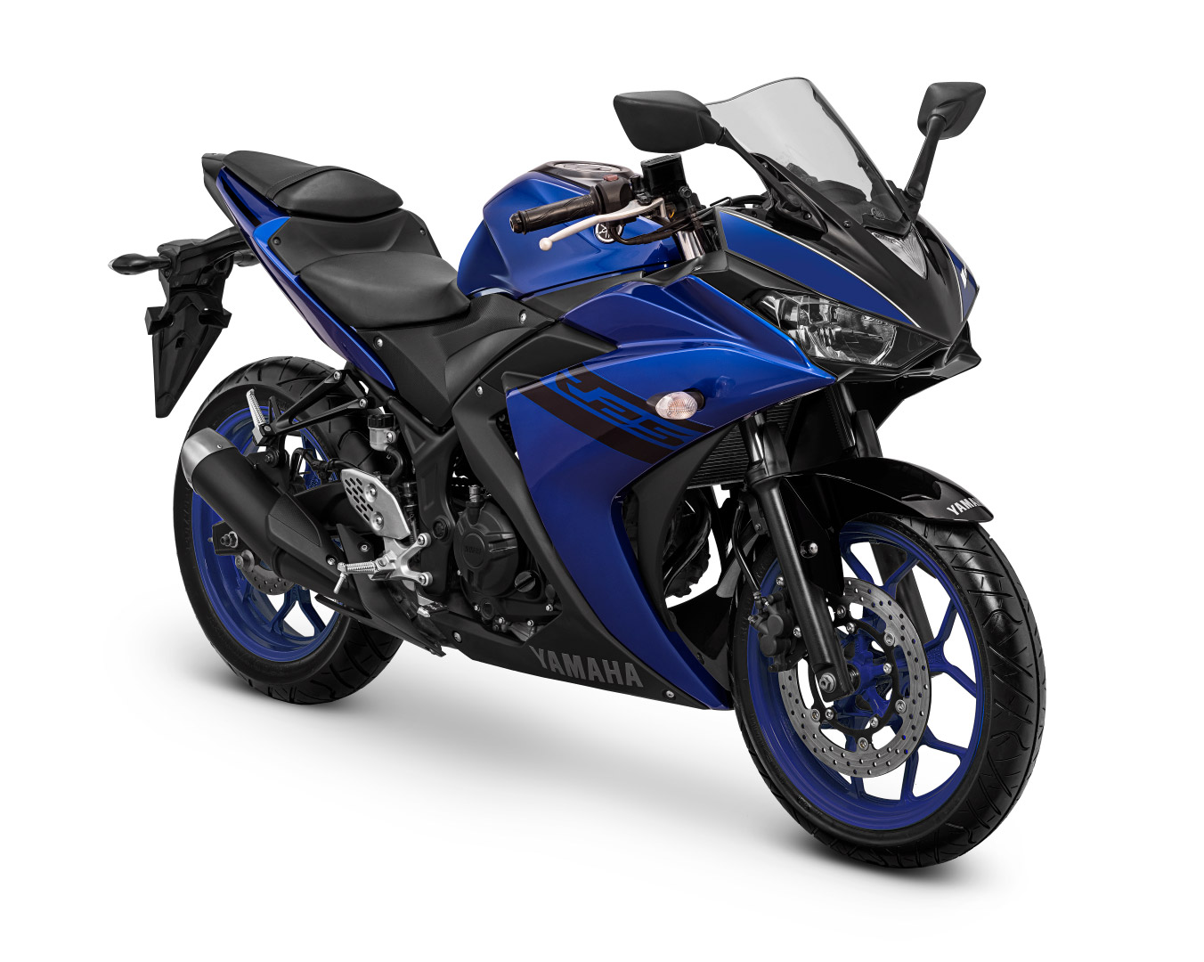 Yamaha YZF-R25 Warna Purplish-Blue
