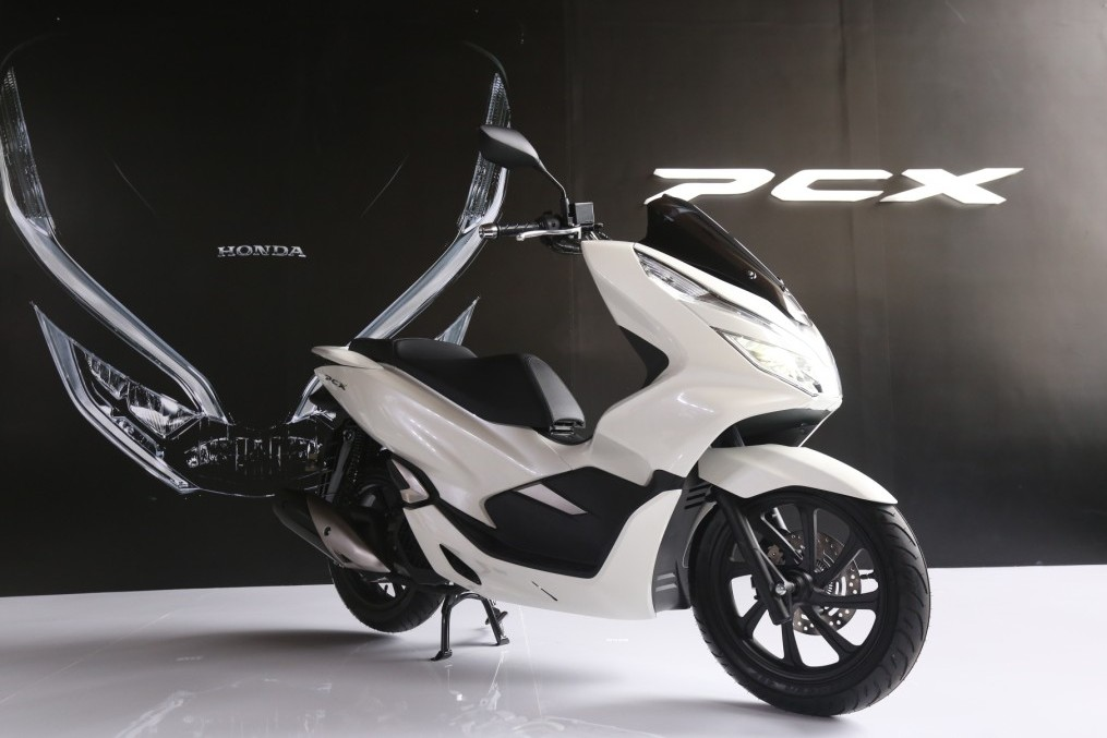 AHM Perkenalan All New Honda PCX 150 Lokal warna putih