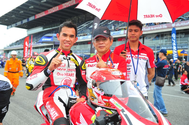 Gerry Salim Honda CBR250RR Final ARRC 2017