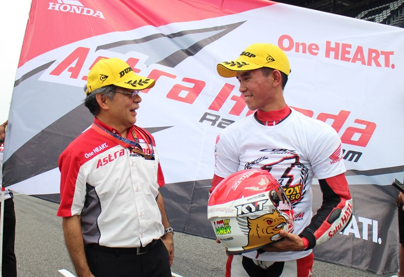 Gerry Salim Juara Asia Production 250 ARRC 2017