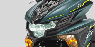 Headlamp Yamaha All New Soul GT AKS SSS Green 2018