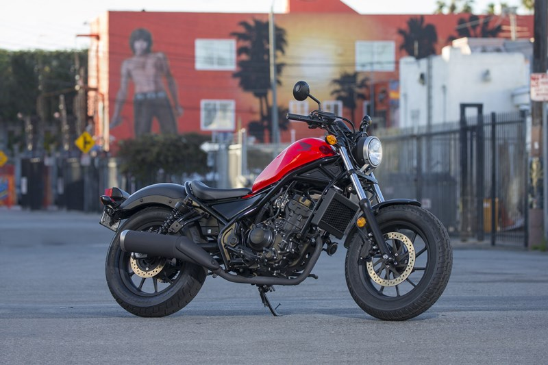Honda Rebel 300 Merah Model 2018 04 P7