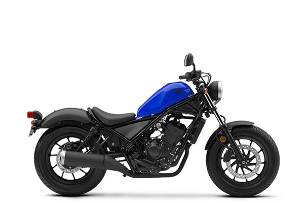 Honda Rebel 300 Versi 2018 Warna Biru