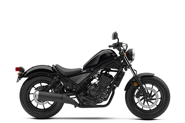Honda Rebel 300 Versi 2018 Warna Black Trans
