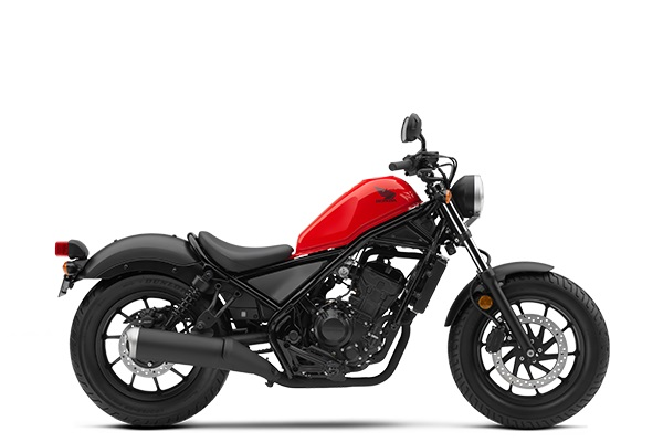 Honda Rebel 300 Versi 2018 Warna Red trans