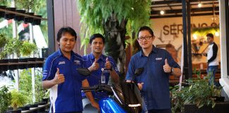 Launching Yamaha NMAX 155 Facelift 2018 Area Madiun Kediri