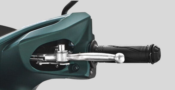 Parking Brake Lock Yamaha All New Soul GT 125 AKS SSS Green 2018