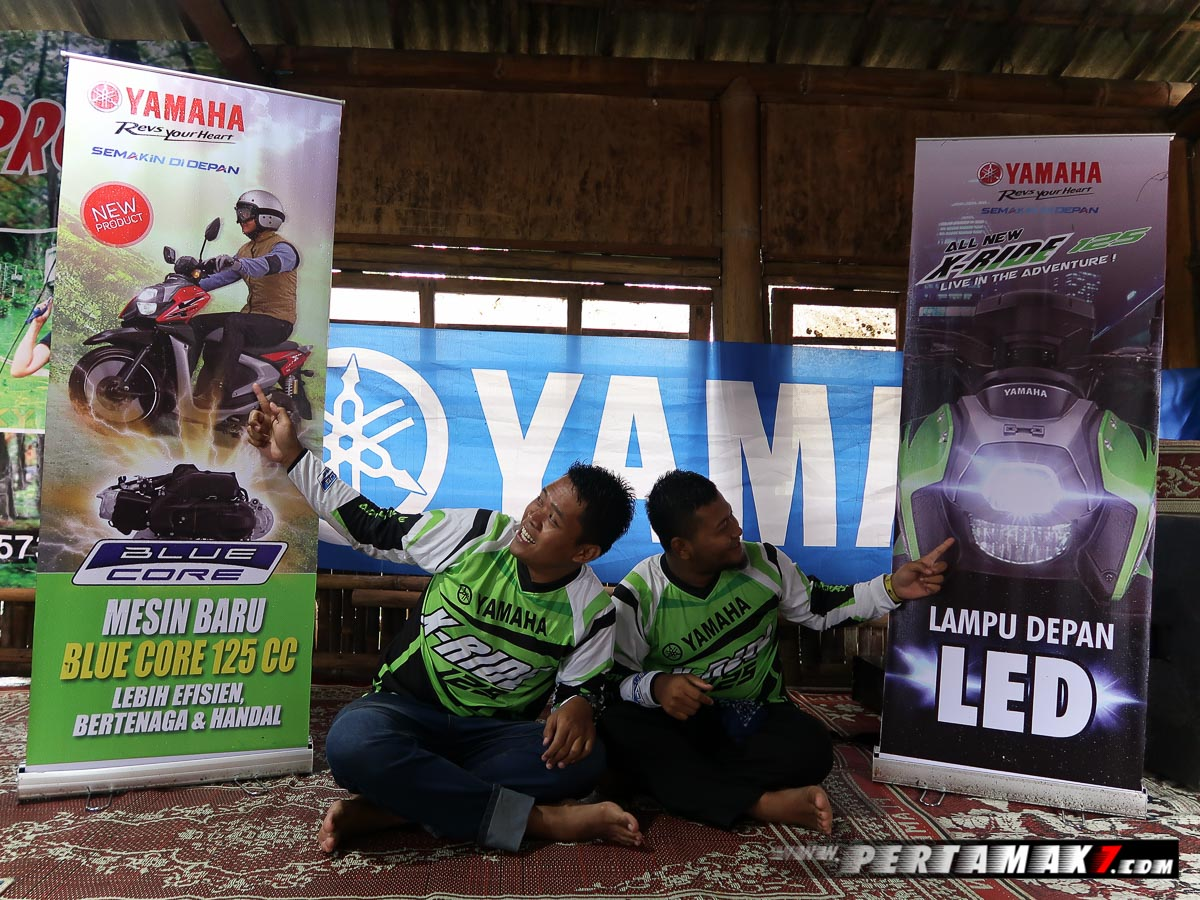 Rider Camp Yamaha All New X-Ride 125 di Air Terjun Irenggolo Kediri 1 p7