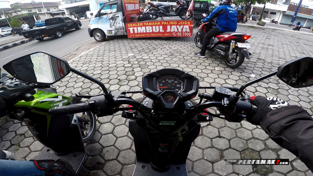 Riding Yamaha All New X-Ride 125 Rider Camp di Air Terjun Irenggolo Kediri 1 p7