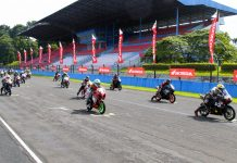 Start Indonesia Honda CBR Race Day 2017