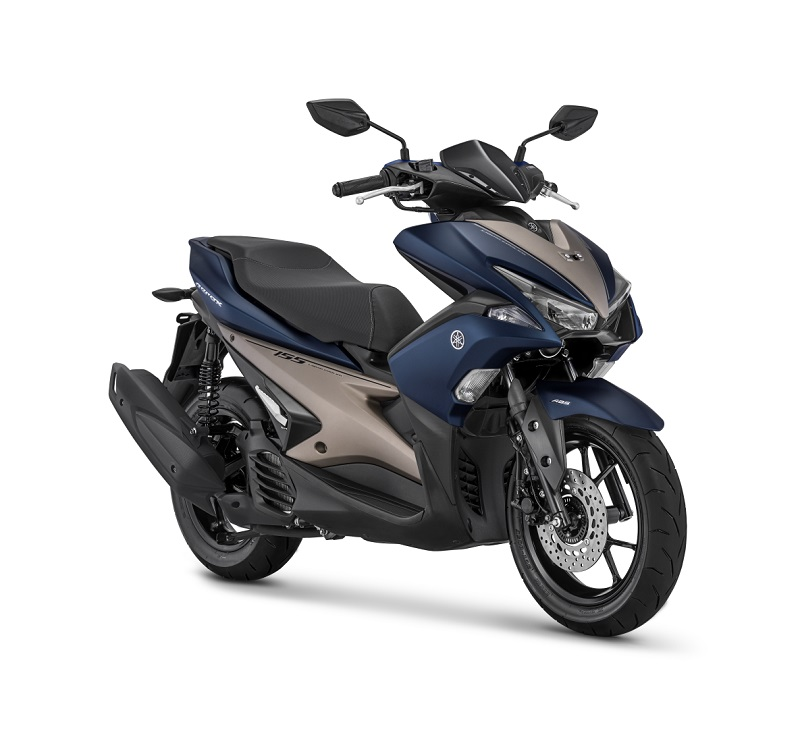 Yamaha Aerox 155VVA - S Version Matte Blue