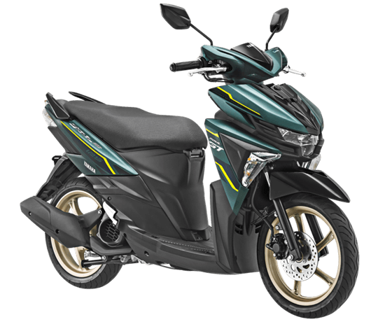 Yamaha All New Soul Gt AKS SSS Warna Hijau