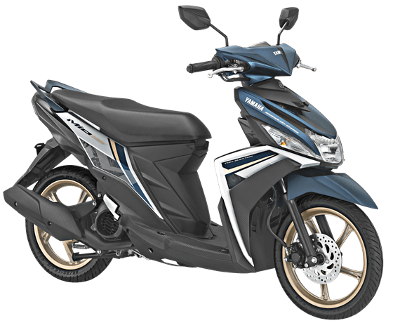 Yamaha MIO M3 125 AKS SSS Facelift 2018 Warna Agressive White Blue