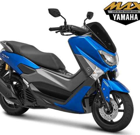 Yamaha NMAX 155 ABS Model 2018 Warna Biru Blue