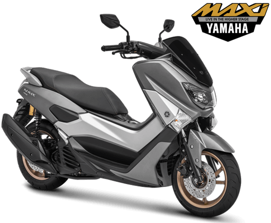 Yamaha NMAX 155 ABS Model 2018 Warna Matte Grey Abu Abu DOff