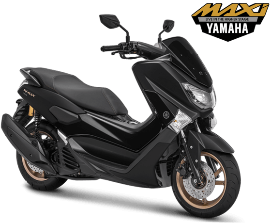 Yamaha NMAX Non ABS STD Model 2018 Warna HItam Doff