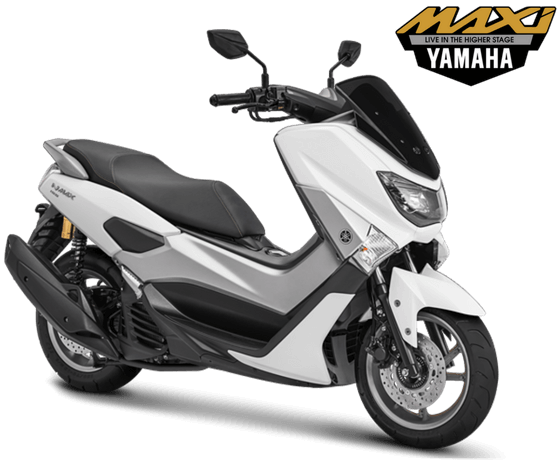 Yamaha NMAX Non ABS STD Model 2018 Warna Putih